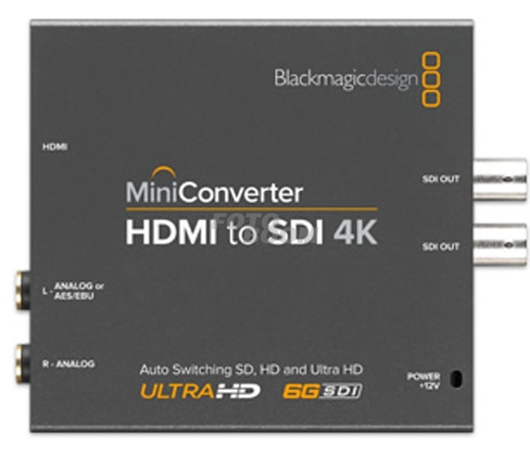 Mini Conversor HDMI to SDI 4k
