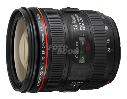24-70mm f/4L IS USM EF + 200E Bonificación Canon