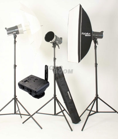 Kit 3 Flashes Elinchrom D-lite DRX4