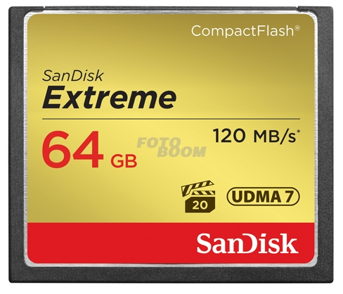 CompactFlash EXTREME 64Gb 120Mb/s